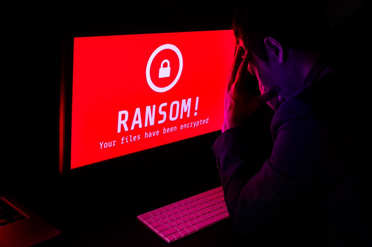 ransomware encrypted files